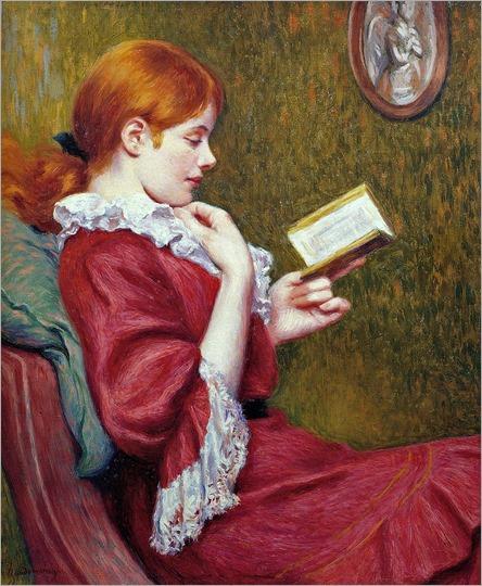 the-good-book-Federico Zandomeneghi - 1897
