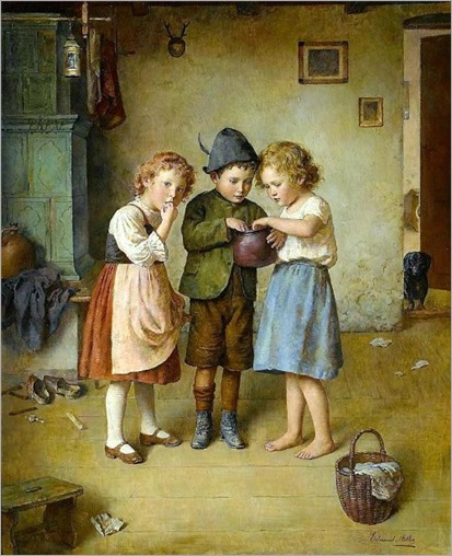 the-honey-pot-2-Edmund Adler (1876 – 1965, Austrian)