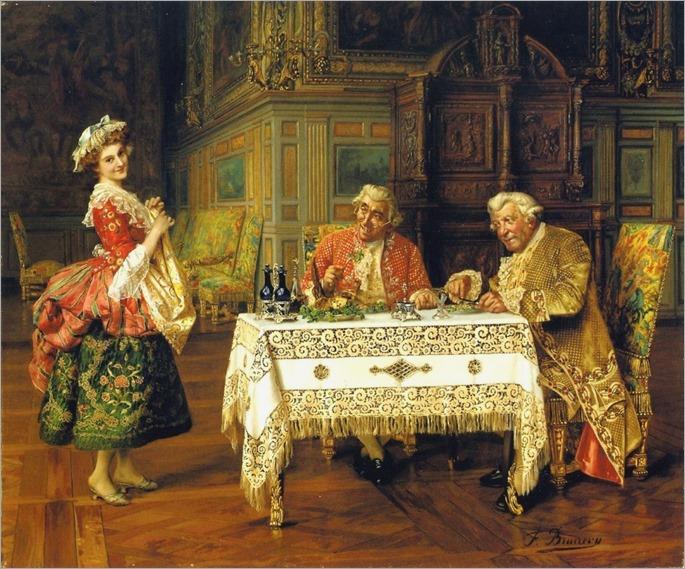 the-new-servant-françois-brunnery  (Italian 1849-1926)