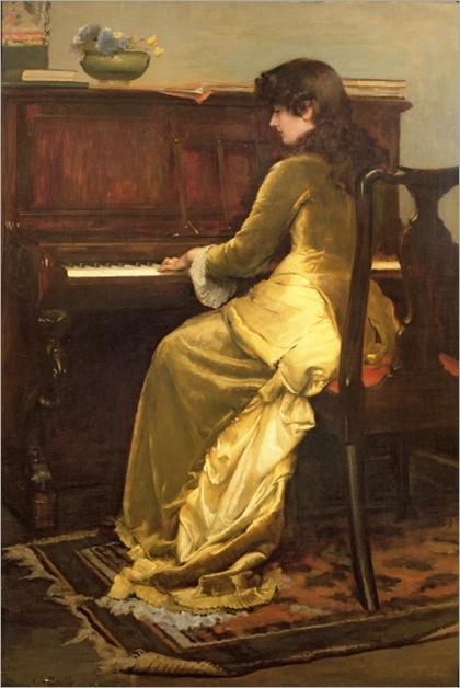 the reverie-1900-Charles Gogin