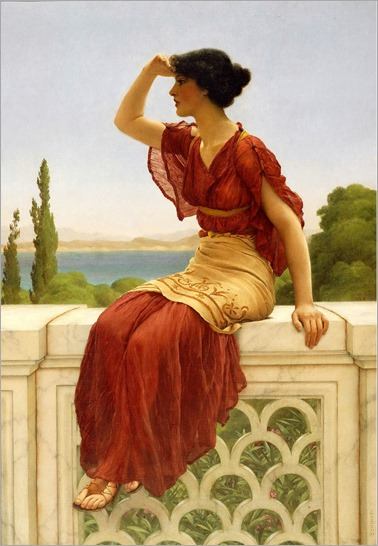 The Signal, John William Godward