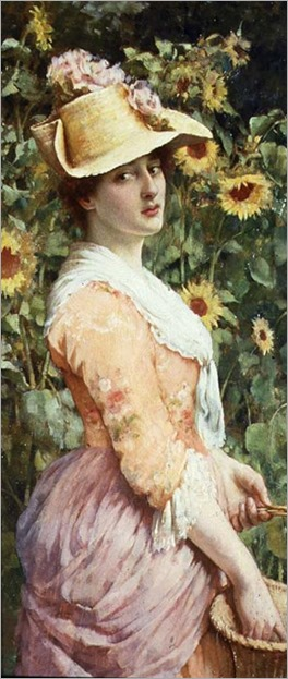 william-a-breakspeare-the gardeners-daughter