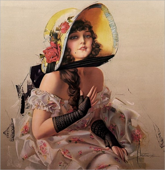 3.Rolf Armstrong (American, 1890 - 1960)