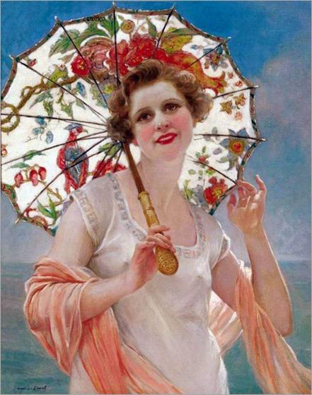 7.Francois Martin Kavel (French, 1861-1931)