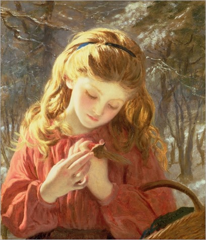 a new friend - Sophie Anderson