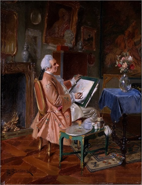 BERNHARD LOUIS BORIONE_Der Amateurkunstler