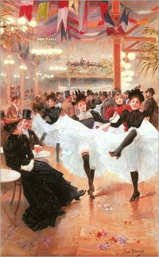 Cafe de Paris - 1900 - Jean Beraud (french painter)