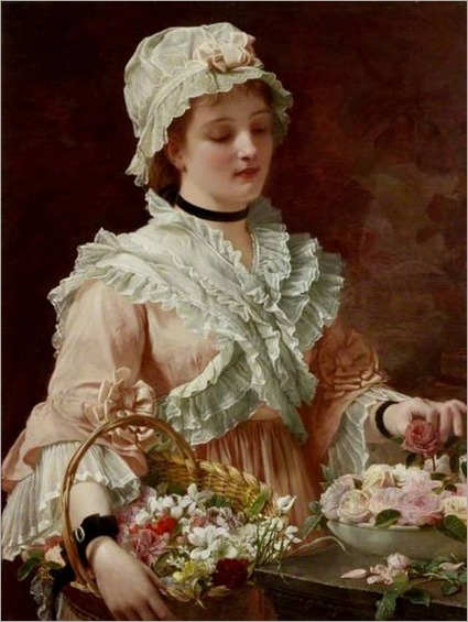 Charles Edward Perugini, A Labour of Love, (~ 1874)