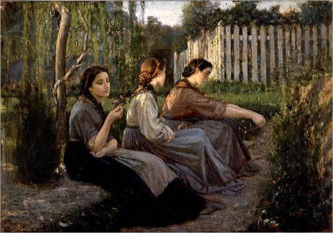 Cristiano Banti (italian painter) - confidenze