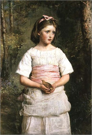 Dropped from the Nest-MILLAIS