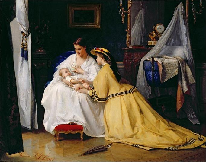 first-born-gustave-leonard-de-jonghe
