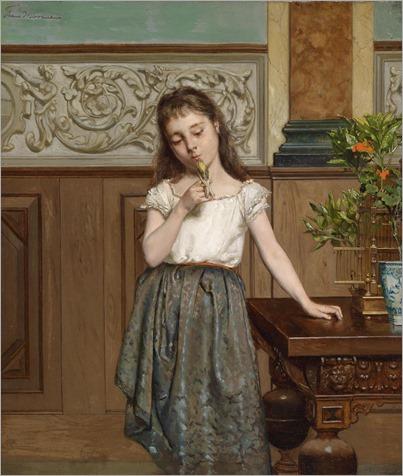 Frans_Moormans_(Rotterdam_1831_1893_Paris)_The_Budgerigar