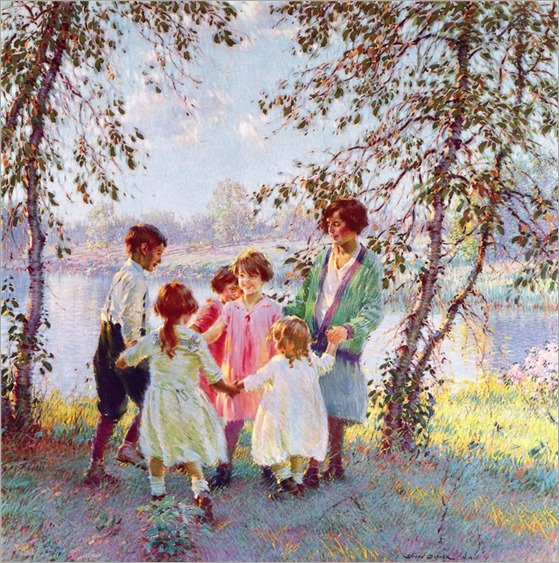 golden days - Edward Dufner