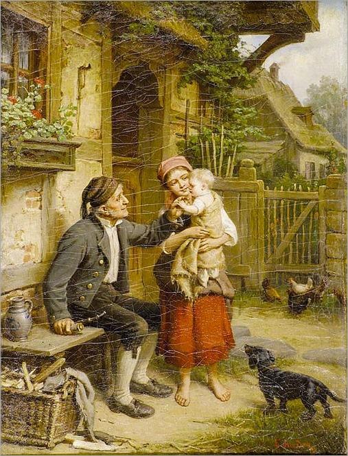 Hader, Ernst- Großvaters Freude