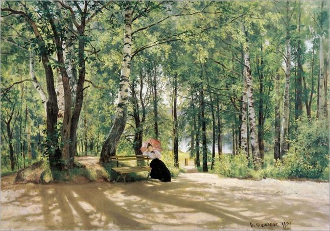 In the Country - Ivan Shishkin-1894