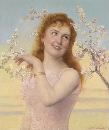 Johannes Kleinschmidt (1858 - 1905) - Spring magic