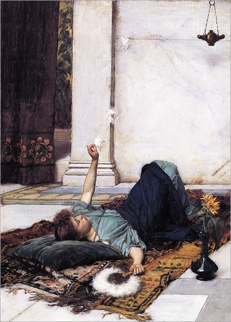 john-william-waterhouse-dolce-far-niente