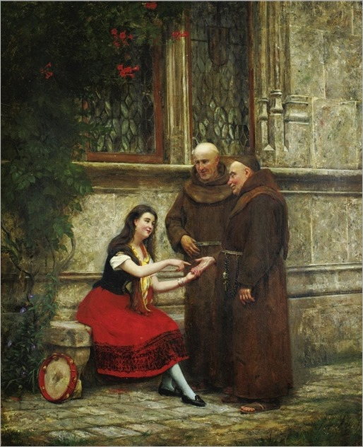 José Frappa (1854-1904) - THE FORTUNE TELLER by Sothebys