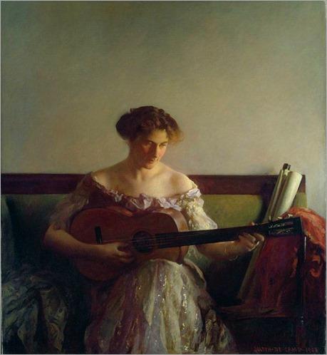 Joseph_DeCamp_The_Guitar_Player_1908