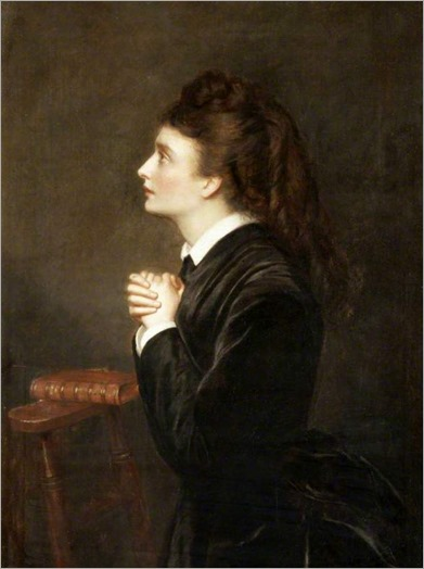Prayer-William Powell Frith (British, 1819–1909)