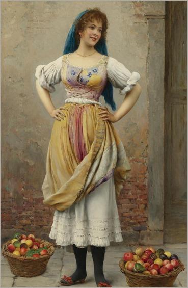 the-market-girl-by-Eugene-de-Blaas