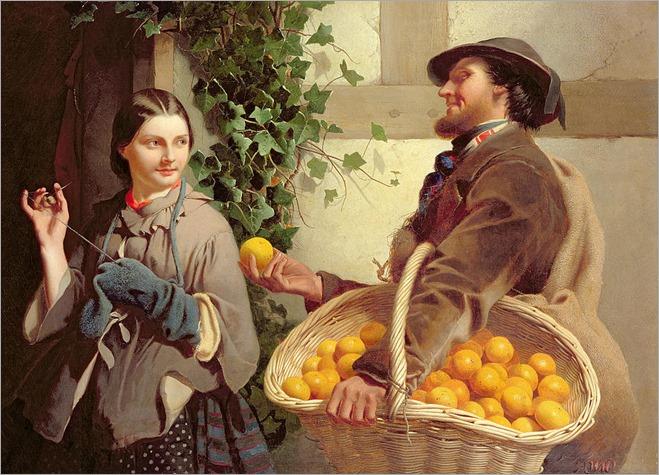 the-orange-seller-william-edward-millner