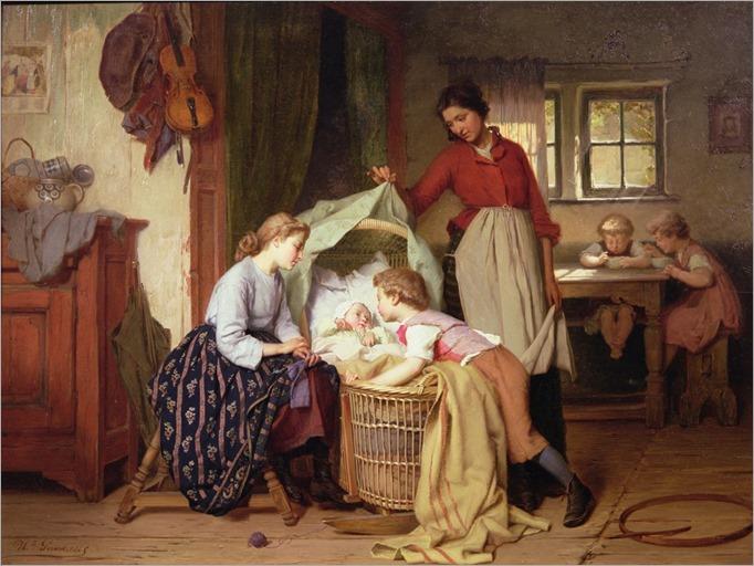 theodore-gerard-the-newborn-child