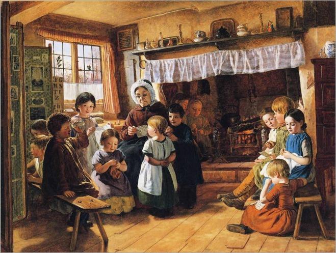 AlfredRankley-village-school