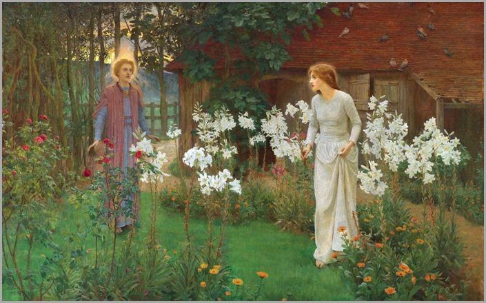Beatrice Emma Parsons (1869-1955)-Annunciation