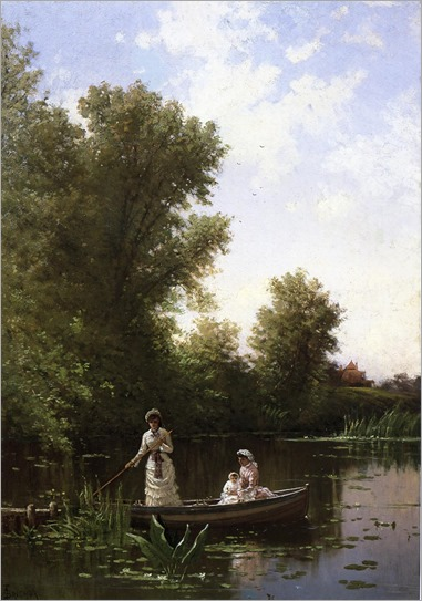 Boating in the Afternoon - Alfred Thompson Bricher