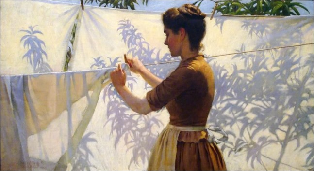 Charles Courtney Curran - Shadows