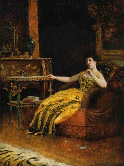 Contemplation - Georges Croegaert (belgian painter)