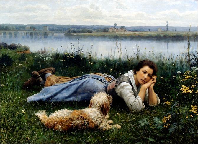 DANIEL R KNIGHT_Reverie_1866_