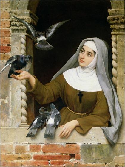 feeding-the-pigeons-eugen-von-blaas