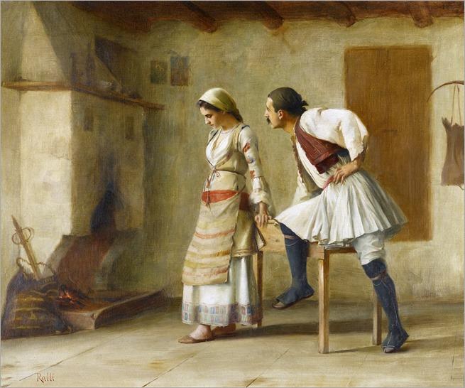 flirtation - Theodoros Ralli
