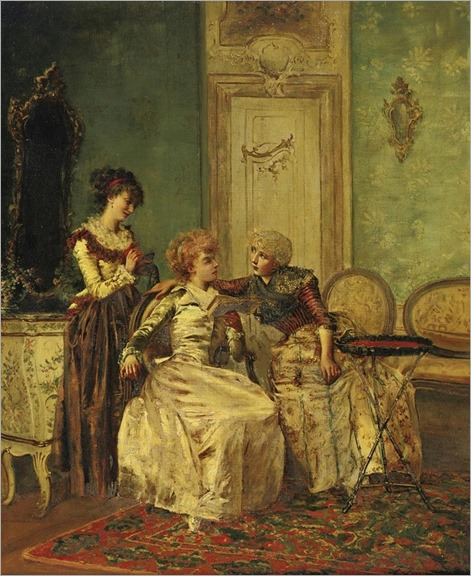 François Brunery 1849-1926 - DELICIOUS CONVERSATION - by Sothebys