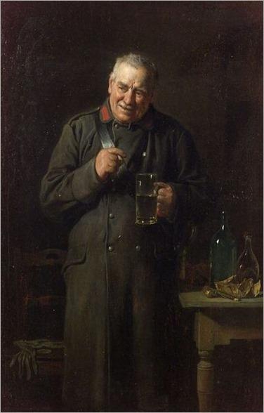 Friedrich Ritter von Malheim Friedlander (Austrian, 1825-1901) A Toast