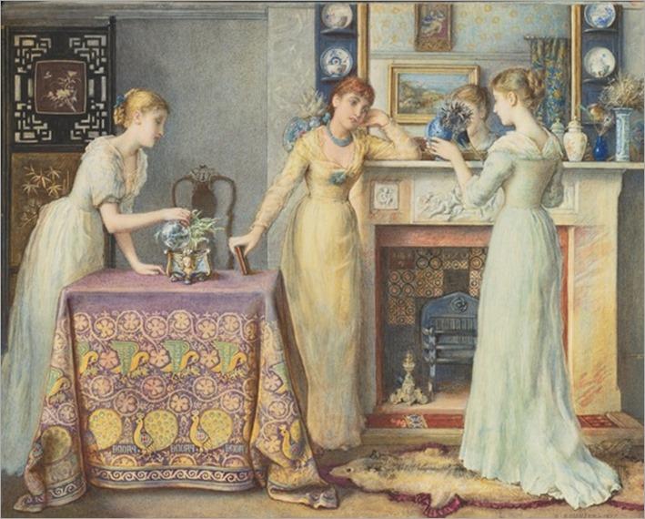 Gustavus Arthur Bouvier (british, 1826-1926) - In the morning