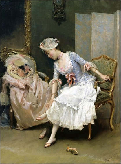 her-new-shoes-Raimundo-de-Madrazo