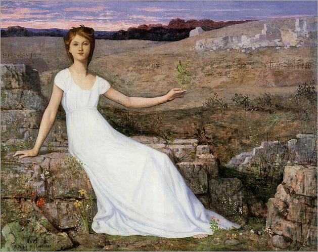 Hope -1872- Pierre Puvis de Chavannes (french painter)