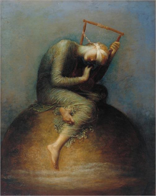 Hope (1886). George Frederic Watts (English, 1817‑1904)