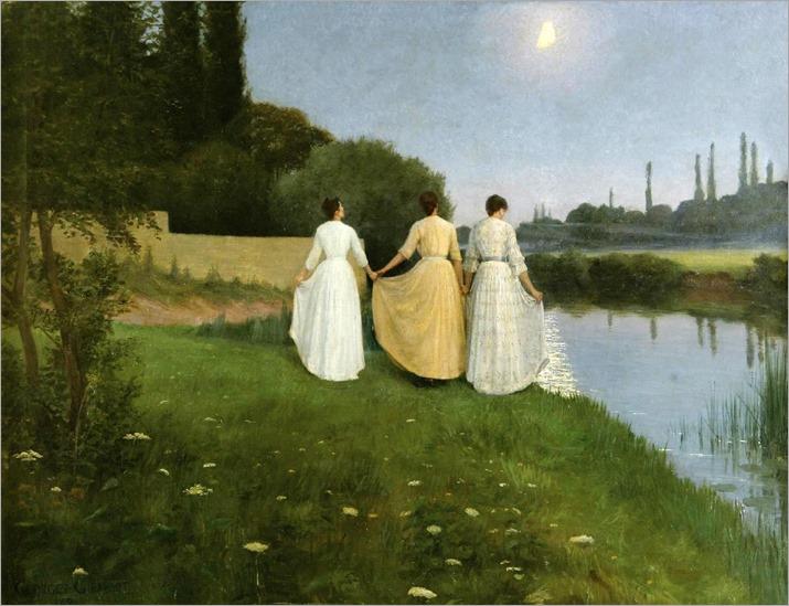 Le Reverences a la Lune - Georges Girardot