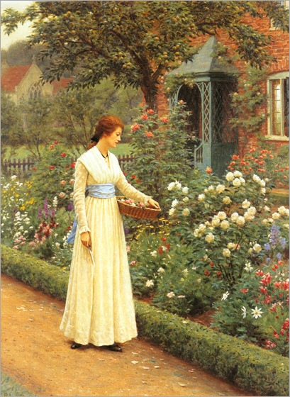 Leighton_Edmund_Blair_Summer_Roses