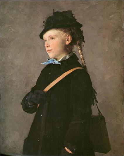 Marie - Albert Anker-1881