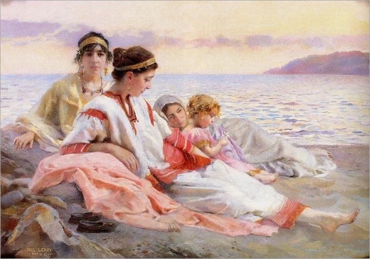 Paul Alexandre Alfred Leroy (French, 1860-1942)_Le Crépuscule Grek