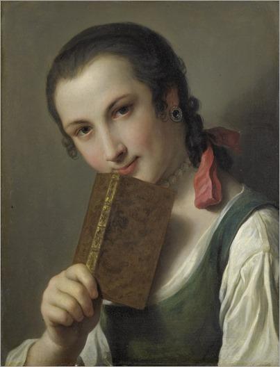 Pietro_Antonio_Rotari_-_Een_jonge_vrouw_met_een_boek