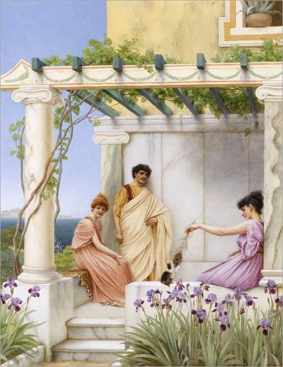 playtime-John William Godward