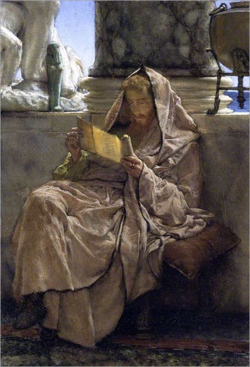 Prose, 1879 by Lawrence Alma-Tadema