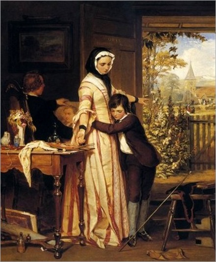reprimanded-John Absolon (1815-1895-english)