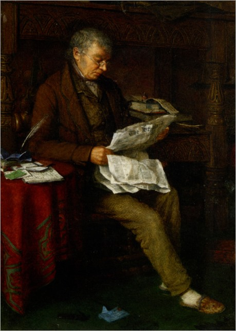 Spencelayh_Charles_Reading_the_Standard